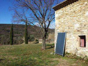 panneau solaire chauffage habitation