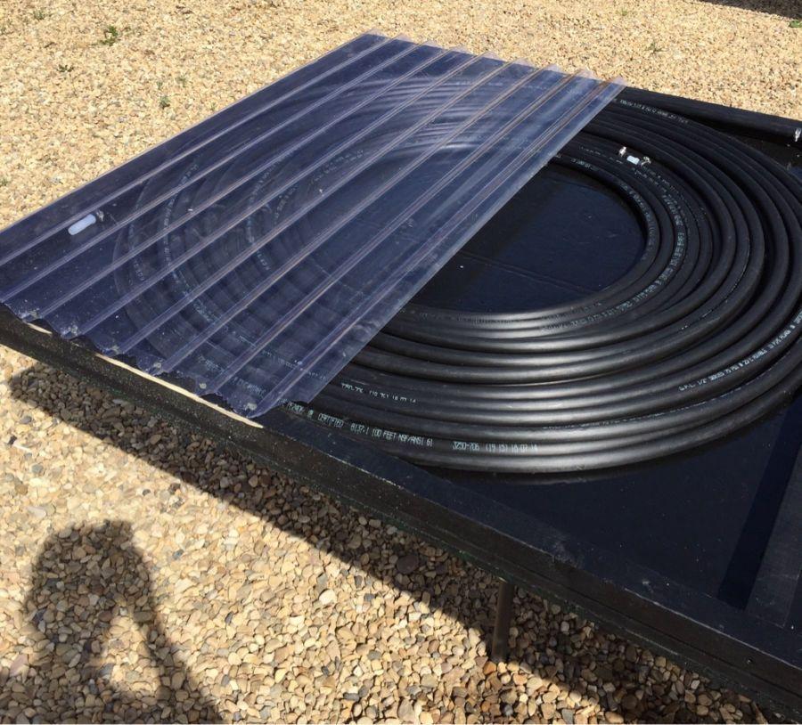 Fabriquez votre chauffage solaire diy sunberry - Chauffer sa piscine avec tuyau noir ...