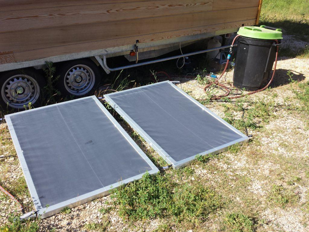 Panneaux solaires Sunberry auto-construits