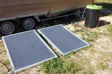 Panneau solaire autoconstruit