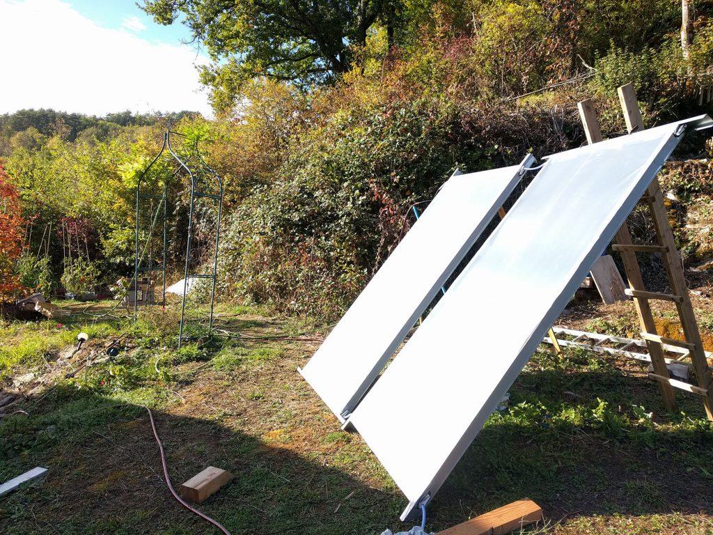 panneaux solaires thermiques fais maison Dijon Cote d'Or